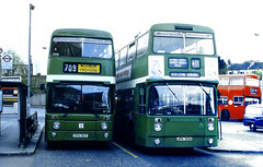 Slide 067-60 (Steve Guess) Tags: lcbs london country leyland atlantean an surrey england gb uk bus xpg181t an181 jpk105k