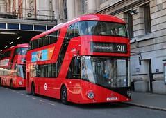 Abellio London LT632, LTZ1632 seen at Waterloo station (Greater London Photos) Tags: lt632 ltz1632 route211 tfl abellio london waterloo hammersmith