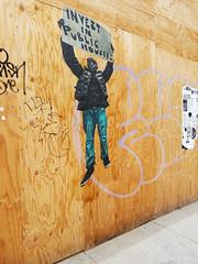Invest in public housing (quinn.anya) Tags: publichousing berkeley graffiti wood downtown