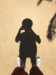 Parc Guell (Solution?Revolution!) Tags: barcelona trip travel shadow feet hat foot spain sand ombra ground palm adventure guell palma parc viaggio piede piedi cappello sabbia avventura