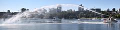 Showboating (dVaffection) Tags: boat showboat fireboat firefighter falsecreek vancouver