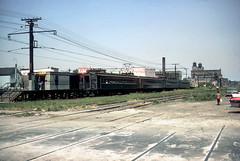 IC South Chicago 1962 (jsmatlak) Tags: chicago train ic suburban railway commuter metra lectric illinoiscentral southchicago