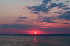 balaton skyscape (sunsetsra) Tags: balaton balatonboglar balatonboglr lake hungary sky skyscape nature water waterscape sun clouds cloud sunset twilight sundown