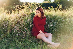 Eva E. (minu_minu) Tags: girl woman pregnant pregnancy gravidity emotive portrait portraiture nature summer summertime dress happiness sunny day nikon d750 czech