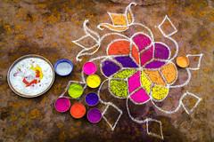Tiruchirappalli | Tamil Nadu (chamorojas) Tags: chamorojas albertorojas india rangoli tamilnadu tiruchirappalli trichy iphone5s