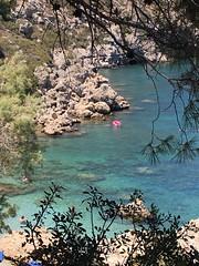 Rhodos, Greece (vanda jose) Tags: anthonyquinnbeach faliraki beach paradise summer greece rhodes rhodos islands sun flag sea