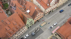 View over Rothenburg from the Rathausturm (Simone on Vacation) Tags: europe germany rothenburg