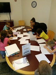 Handwriting Class at the Southeast Library (SJCPLS) Tags: sjcpls southeastbranchlibrary handwriting cursive