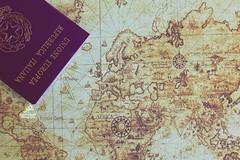 .. (zaher.ziadeh) Tags: stilllife worldmap map passeports passeport passaporto italian italiano italy italia travel travels viaggio