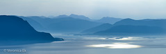 haze (ekveronica) Tags: panorama mountains blue contrast norway west stadlandet stad sun rays nature ocean north sea hills layers