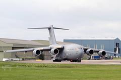 Royal Air Force Boeing C-17A Globemaster III (SparkyMark's Aircraft ) Tags: royal air force boeing c17a globemaster iii bzz egvn zz171