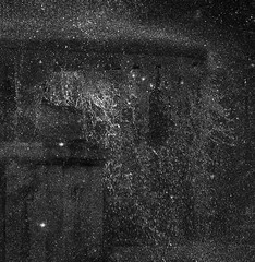 fireflies (Vitiaco) Tags: water darkness drops gloomy glance glare gloom fontain fantasylandscape fog park bw light fireflies