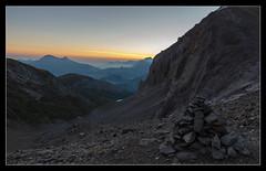 Morning Colors (pascal_kipf) Tags: dmmerung dawn morning sky himmel view aussicht alps alpen mountain berge steinhaufen hiking trekking explore blue hour blaue stunde iffigtal wildhornhtte wildhorn gebiet canon 7d mk ii 16 35 l weitwinkel wideangle