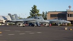 USN F/A-18Fs 166973 and 168928 (Josh Kaiser) Tags: 166973 168928 6kuss demo01 demo02 f18 fa18f nj156 nj170 usn vfa122