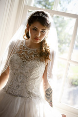 Lissette Cristina Vazquez (Notley) Tags: httpwwwnotleyhawkinscom notleyhawkinsphotography notley notleyhawkins 10thavenue wedding weddinggown bride bridal ttlproductions throughthelensproductions 2016 september portrait model colonelboltonhome anamariesbridal gown