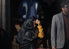 Tehran Bazar, a woman in chador       (Parisa Yazdanjoo) Tags: tehranbazar  awomaninchador