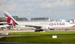 Qatar Airways A330 A7-ACC taxiing at MAN/EGCC (AviationEagle32) Tags: uk man atc manchester flying airport unitedkingdom aircraft aviation airplanes flight apron planes airbus departure a330 avp aeroplanes manchesterairport winglets taxiing ringway planespotting egcc qatarairways a330200 a332 airbus330 aviationphotography a7acc manchesteravp flickraviation manchesterairportt1 manchesterairportatc