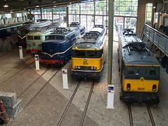 Line-up Spoorwegmuseum Utrecht 2 augustus 2008 (Remco van den Bosch 72) Tags: utrecht lineup 1010 1202 1122 spoorwegmuseum 1501 1312 utrechtmaliebaan electrischelocomotief