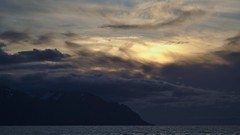 Sunset (heikole-art.net) Tags: sunset sky cloud sun mountain water berg island evening abend iceland wasser sonnenuntergang himmel wolke sonne soe autofocus 2014 greatphotographers dalvik vividstriking