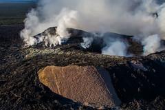 Kilauea Crater Big Isalnd Hawaii New vent (tmo-photo) Tags: fire volcano hawaii lava nationalpark smoke tube crater bigisland kilauea