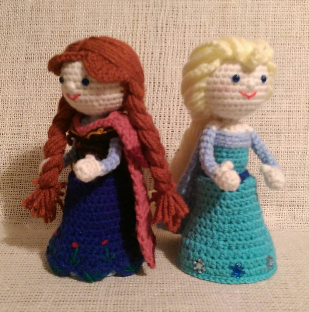 Crochet Frozen Doll : The Worlds most recently posted photos of amigurumi and ...