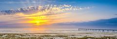 Wharf Sunset Panorama (Nicolas Reggiani) Tags: wharf hdr bassindarcachon latestedebuch lasalie