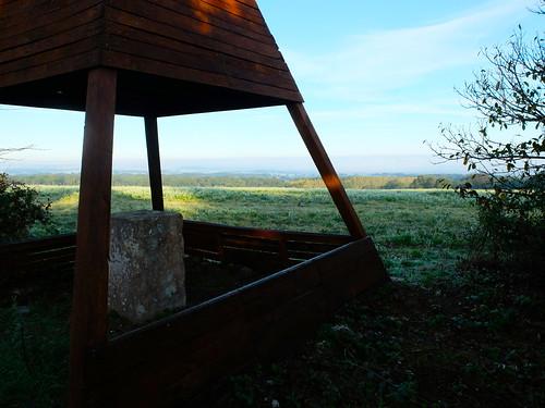Reconstitution de la mire de triangulation de Delambre - Peu de vesdun (367 m) - Vesdun - Cher - Berry - Centre - France