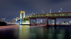 Tokyo Twilight 174 (Harimau Kayu (AKA Sumatra-Tiger)) Tags: longexposure nightphotography japan tokyo cityscape nightscape bayarea shinagawa toky
