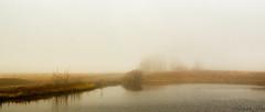foggy fall fence (montrealmaggie) Tags: mist fall fog fence hff