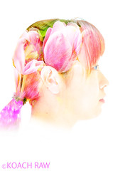 Tulip_koach raw (koach_raw) Tags: autumn signs flower art girl silhouette photography ginkgo exposure raw hometown hula fine style double queen tulip multiple wisteria scent later matryoshka    koach      koachrawphotography doublegraphy