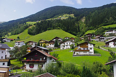 Houses in Gries Im Sellrain (David J. Greer) Tags: houses summer house mountain mountains alps grass weather austria high nice outdoor altitude hill hills alp hilly tyrol steep sellrain tyrollean