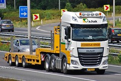 Daf XF by A.Hak Transport from Holland (Alde Gryse) Tags: holland arnhem transport daf nearby xf a50 ahak