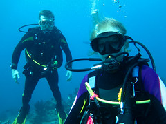 Maldives 2014 (bowsawblogger) Tags: people fish animals coral canon sand couple honeymoon indianocean scuba rubber fantasia snorkelling bsac scubadiving padi reef maldives wetsuits skintight 2014 g16 shorediving scubatravel livaboard scubascuba canong16