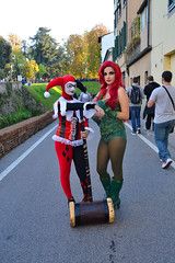 (itsmegiuliah) Tags: girls dc cosplay lucca cosplayer poisonivy harleyquinn ragazze luccacomics luccacomics2014 luccacg14