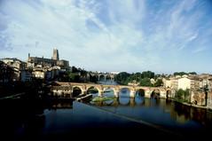 Albi (anto_gal) Tags: panorama france fiume dia 1995 tarn francia albi diapositiva citt midipyrnes midipirenei
