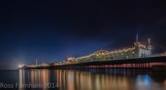 The Pier (Photo Lab by Ross Farnham) Tags: ocean sea beach sussex pier nikon brighton