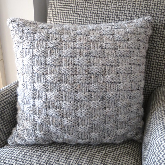 Ravelry Basket Weave Pillow Pattern By Kathy Lewinski