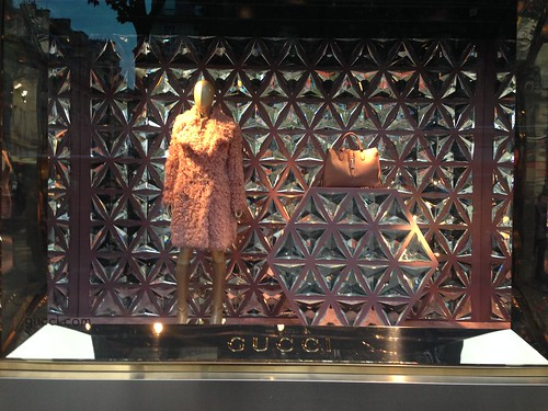 Vitrines Gucci - Paris, octobre 2014