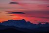 il Rosa nel Cielo (Roveclimb) Tags: sunset red sky mountain alps color colour clouds tramonto nuvole dusk rosa cielo alpi montagna canzo corni prealpi triangololariano gajum lenticolare lenticolar