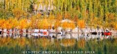 Autumn paint !! (C@MARADERIE) Tags: autumn pakistan lake color nature landscape colorful natural naturism northernareas skardu autumnalscene kachura beautifulpakistan upperkachura kachuralake skarduvalley lakesofpakistan beautyofpakistan gilgitbaltistan naturismphotography