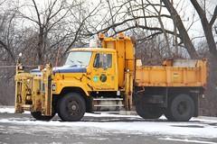 NYSDOT International S series (RyanP77) Tags: white snow ny burlington truck star town dump upstate s bulldog international western granite series plow mack fwd rd oshkosh snowplow snowblower rm snogo plower frieghtliner nysdot townofdeerfieldny