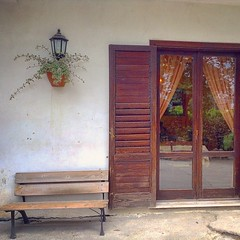 Mi ricordo le domeniche di giugno... (simoneaversano) Tags: wood home window reflections bench outside restaurant wooden poetry loneliness sunday entrance inside poesia homesick whitewall aside apart woodenbench onthebench newfilters homesickness poetography lonelybench latergram uploaded:by=flickstagram instagram:venuename=agriturismoilpozzodeidesideri instagram:venue=44002385 instagram:photo=746185833531774065247096476