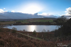 Week 49 - Water (Ashey1209) Tags: sky cold water landscape cloudy sunny reservoir chilly westyorkshire holmfirth huddersfield