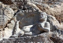 (Shahireh) Tags: mountain statue stone  hercules         shahirehsphotos    kermanchah