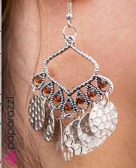 5th Avenue Brown Earrings K2 P5312-5