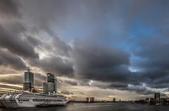 Rotterdam (Aldo van Zeeland) Tags: rotterdam cruiseship portfolio maas waterweg