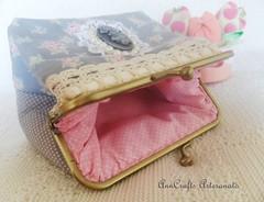 Carteira Romantique Vintage VI (AnnCrafts Artesanato) Tags: vintage tilda carteiras vintagepurse