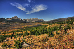 Following the clouds (Len Langevin) Tags: autumn canada landscape rockies nikon alberta rockymountains nikkor 10300 d300s albertawestcountry