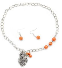 Sunset Sightings Orange Necklace P3120A-4