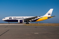 G-MAJS - Monarch Airlines - Airbus A300B4-600 (5B-DUS) Tags: airport lca cyprus international monarch airbus airlines larnaca a300 larnaka a306 gmajs lclk a300b4600